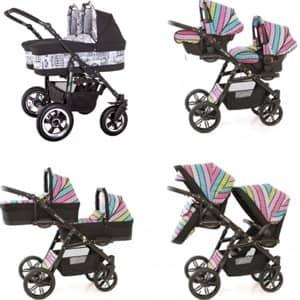 vozički za dvojčke Euro-Baby