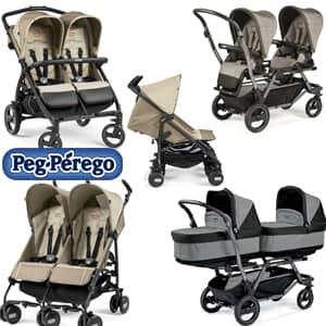 vozički za dvojčke Peg Perego