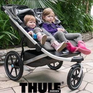 vozički za dvojčke Thule