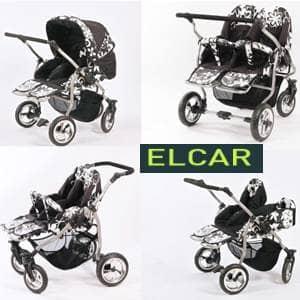 vozički za dvojčke Elcar