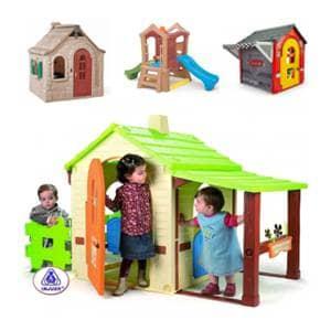 Vrtna igrala za otroke so super doživetje za vašega malčka.Vrtne hiške za otroke male in velike.