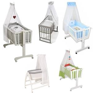 Zibelke za dojenčke velika izbira lesenih zibelk v beli in natur barvi.Zibelka za dojenčka je idealna izbira za otroško sobo.