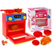 Štedilnik s pečico in dodatki za malega kuharja , QF26131P-ZA1650