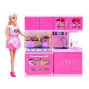Gospodinja Anlily Doll z kuhinjo  ZA2462-99207-ZA2462