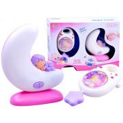 Glasbena škatla 2v1 + nočna lučka za otroke + Bluetooth ZA2645-999-301B, 999-301G-ZA2645