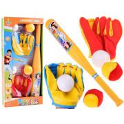 BASEBALL set palice kroglice baseball rokavice SP0626-JB6090B-SP0626