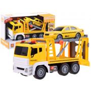 Velik kamion avtovleka  + avto , lučke + zvok  ZA3222-WY832A-ZA3222