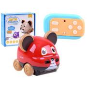 Prisrčna miška na daljinski upravljalnik , interaktivna igrača - ZA3362-3301A-ZA3362