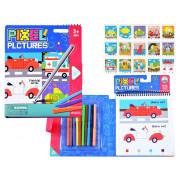 Educational coloring book pixels ZA3373-Z185-3A-ZA3373