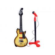 Rock kitara z mikrofonom za otroka  IN0105-HK-9080CB-IN0105 B