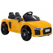 Električni Avto - LeanToys - 12V - Audi R8 Spyder -2329 - Rumen