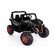 Električni Jeep XMX603 - LeanToys - 4x4 - 2x12V -  MP4-3291 - Črna