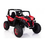 Električni Jeep XMX603 - LeanToys - 4x4 - 2x12V -  MP4-3291 - Rdeča