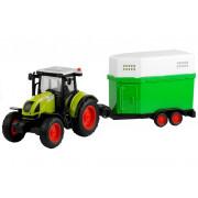 Kmečki traktor s snemljivo konjsko prikolico  37,5-3575