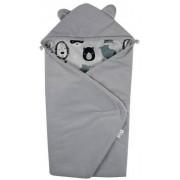 Zimska vreča za avtosedež Žamet  SP-40 Zwierzęta Maski