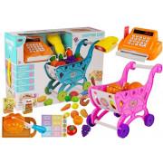 Mini Market z blagajno in dodatki  -  ROZA-4639
