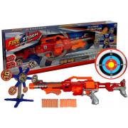 Puška + penasti izstrelki + tarča -5076