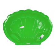 Peskovnik - bazenček - v obliki školjke - 2075 -5542 - Zelen