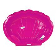 Peskovnik ali bazenček v obliki školjke - roza 2075-5686