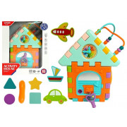 Izobraževalna hiša za dojenčka sortirni Labirint -5958