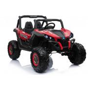 Električni Jeep - Buggy LeanToys - 2x12V - 4x4 - XMX603 -5965 - Rdeča