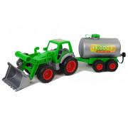 Traktor z Cisterno Zeleno- Siv 8794-6304