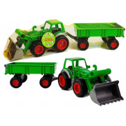 Zeleni traktor s prikolico POLESIE 8817-6411
