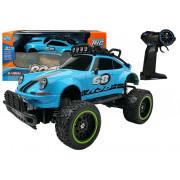Daljinsko krmiljen terenski avto R / C Beetle Blue 2.4G6656