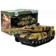 Tank na baterije Zvočni učinki rumene barve27cm-7543