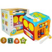 Izobraževalna kocka za dojenčke Sound Light -8303