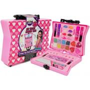 Kovček s kozmetiko za dekleta Eyeshadows lak za nohte-8306