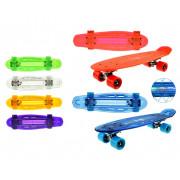Svetleči Skateboard - 55 cm - 8714627623536