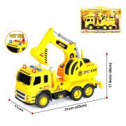 Tovornjak in Bager na Baterije - 32 cm - 3850360092293
