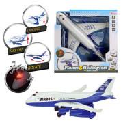 Potniško Letalo z Svetlobo - 30 cm - 8719904269568