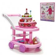 Voziček z Deserti za Igranje Otrok z Baterijami - 55x43 CM - 8015361318178