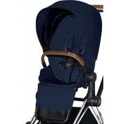 Športni Del Vozička - Tekstil - Cybex Priam 2.0 - PLUS - Midnight Blue -