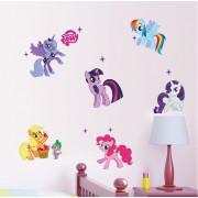 Stenske Nalepke za Otroke - My Little Pony - ZY1425 - 50x70cm