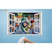 Stenske Nalepke za Otroke - Toy Story 3 - ZY1403 - 60x90cm