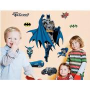 Stenske Nalepke za Otroke - Batman - DF9910 - 60x90cm