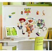 Stenske Nalepke za Otroke - Toy Story 3 - DF9912 - 60x90 cm