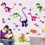 Stenske Nalepke za Otroke - Dinozavrovi Risančki - 90x60cm - ABC1045