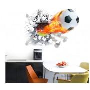 Stenske Nalepke za Otroke - Nogometna Žoga - ZY1473 - 50x70cm