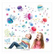 Stenske Nalepke za Otroke - Risančki Meduzice - 45x30 cm - XL3042