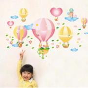 Stenske Nalepke za Otroke - Baloni - JM8281 - 50x70cm