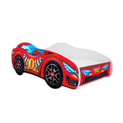 Otroška Postelja - Top-Beds - Avtomobil - 160x80 cm - Racing Car - Red