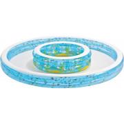 Intex 57143NP družinski bazen z šprico 279x36 cm-6941057402581