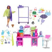 Totaletna miza Barbie Extra Moda z lutko GYJ70
