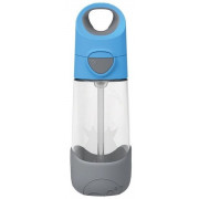 B.box 450 ml Tritan steklenica s slamico - Blue Slate