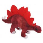 Plišasta igrača - Stegozaur 30cm 13456  - Rdeča