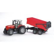 Bruder traktor Massey Ferguson 7480 s kiper prikolico